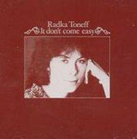 Radka Toneff - It Don't Come Easy